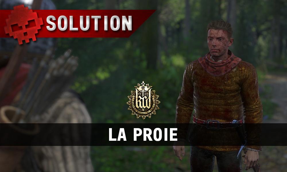 Kingdom Come La Proie hans capon ensanglanté