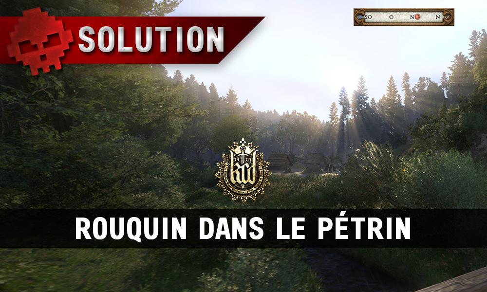 Kingdom Come Rouquin dans le Pétrin camp des charbonniers vignette