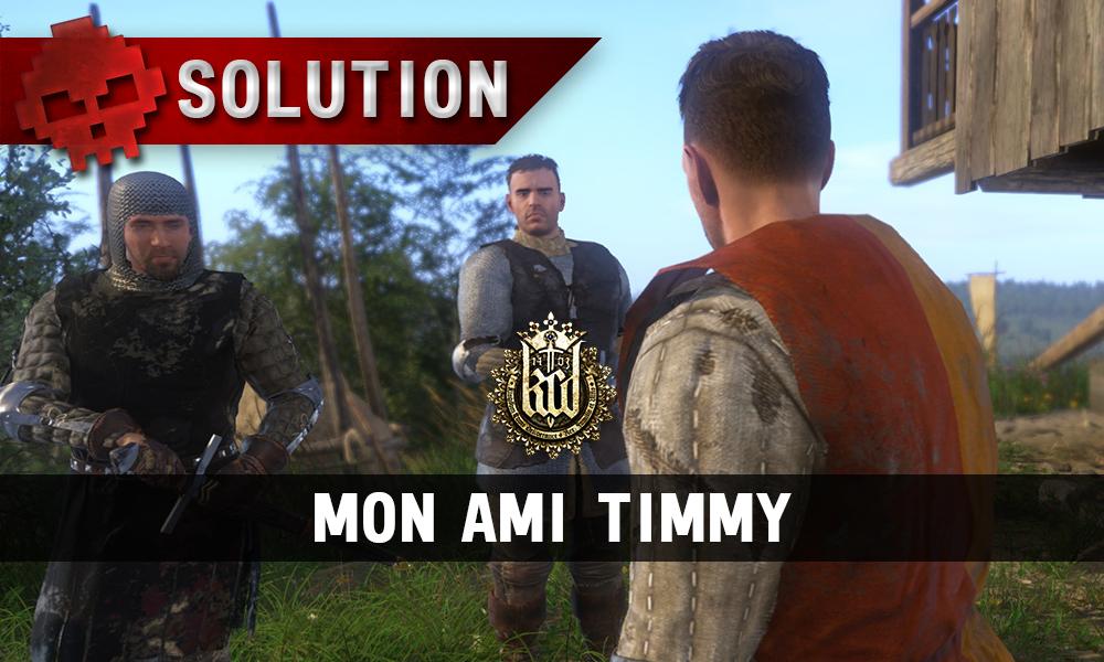 Kingdom Come mon ami timmy vignette