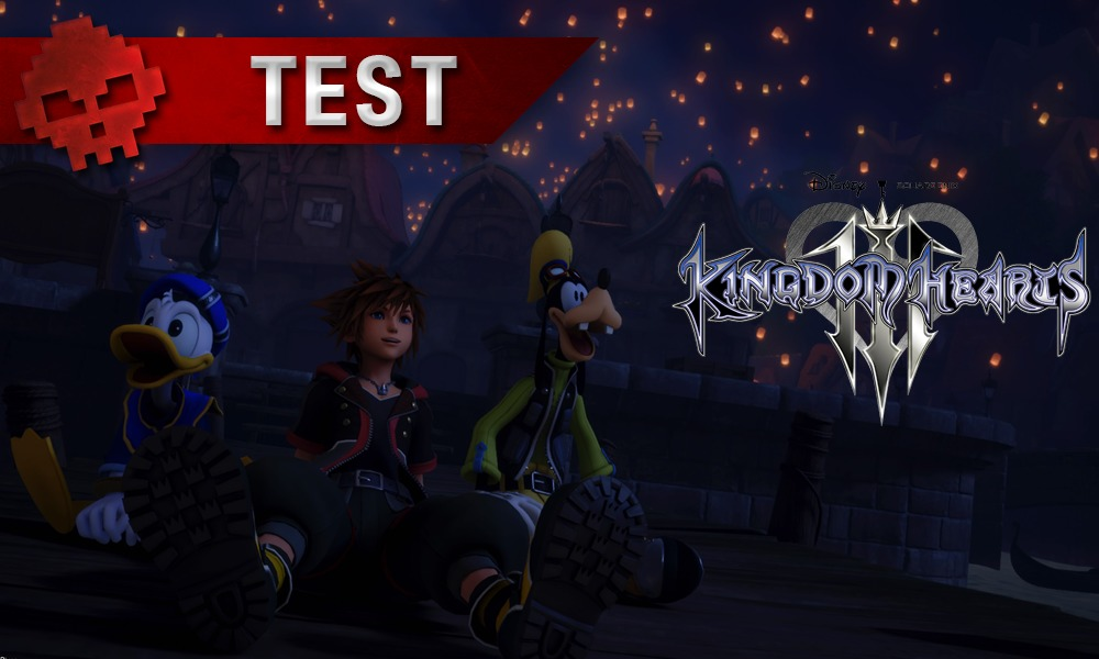 Kingdom Hearts III - vignette test