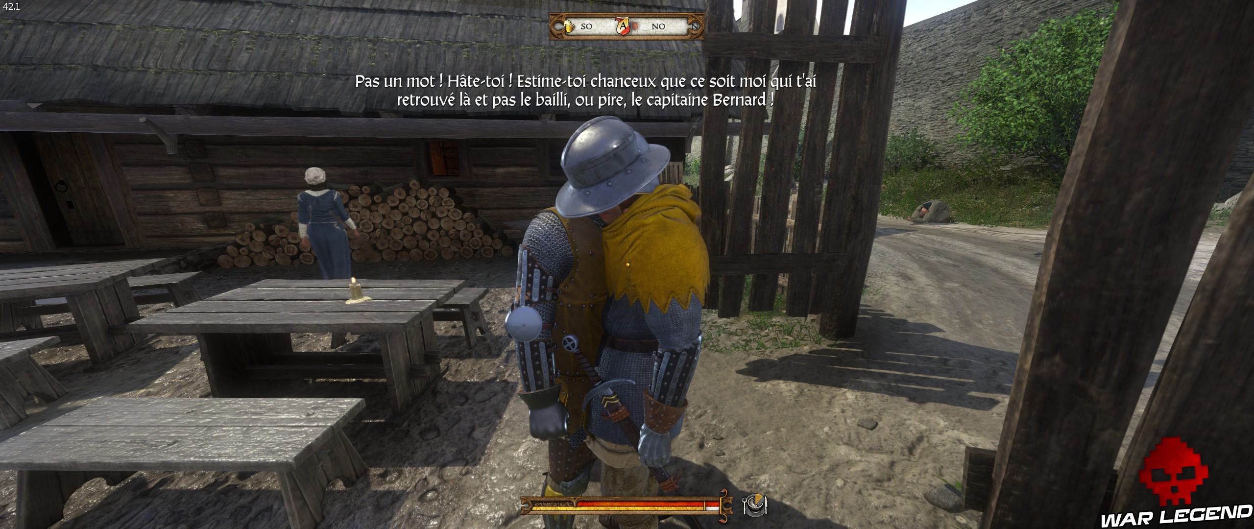 Kingdome Come Deliverance bug de collision face à face