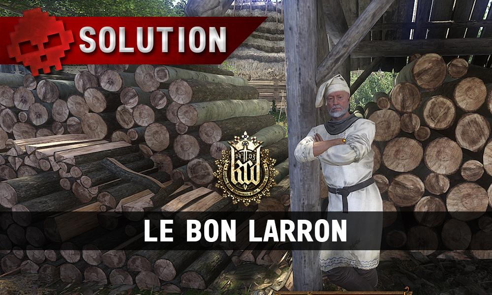 Le bon larron Kingdom Come
