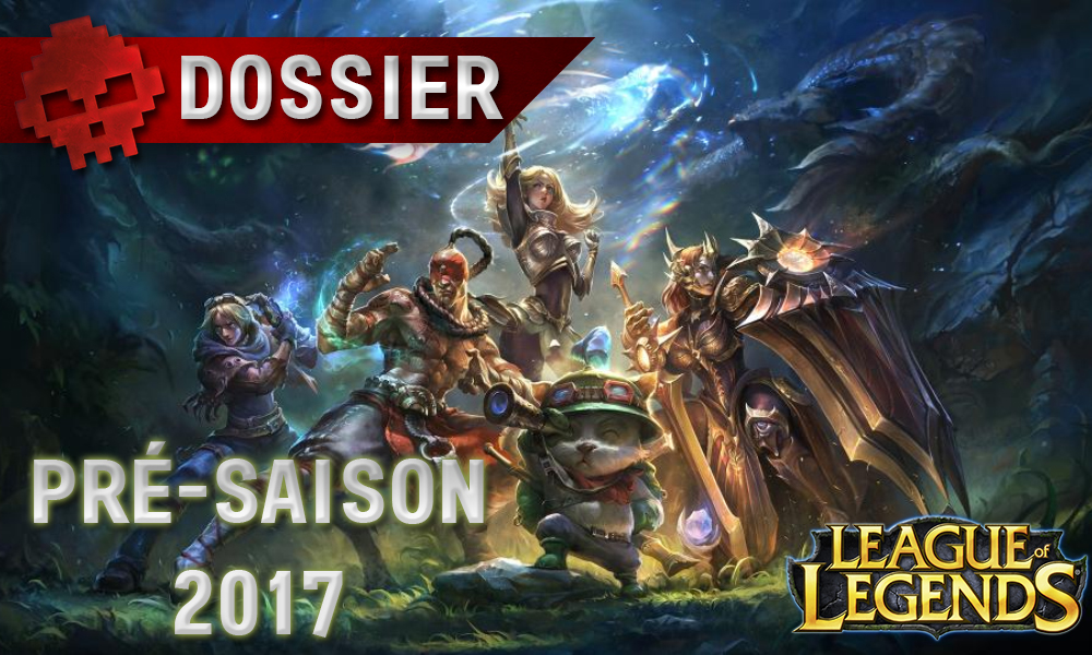 League of Legends Pré-saison 2017 War Legend