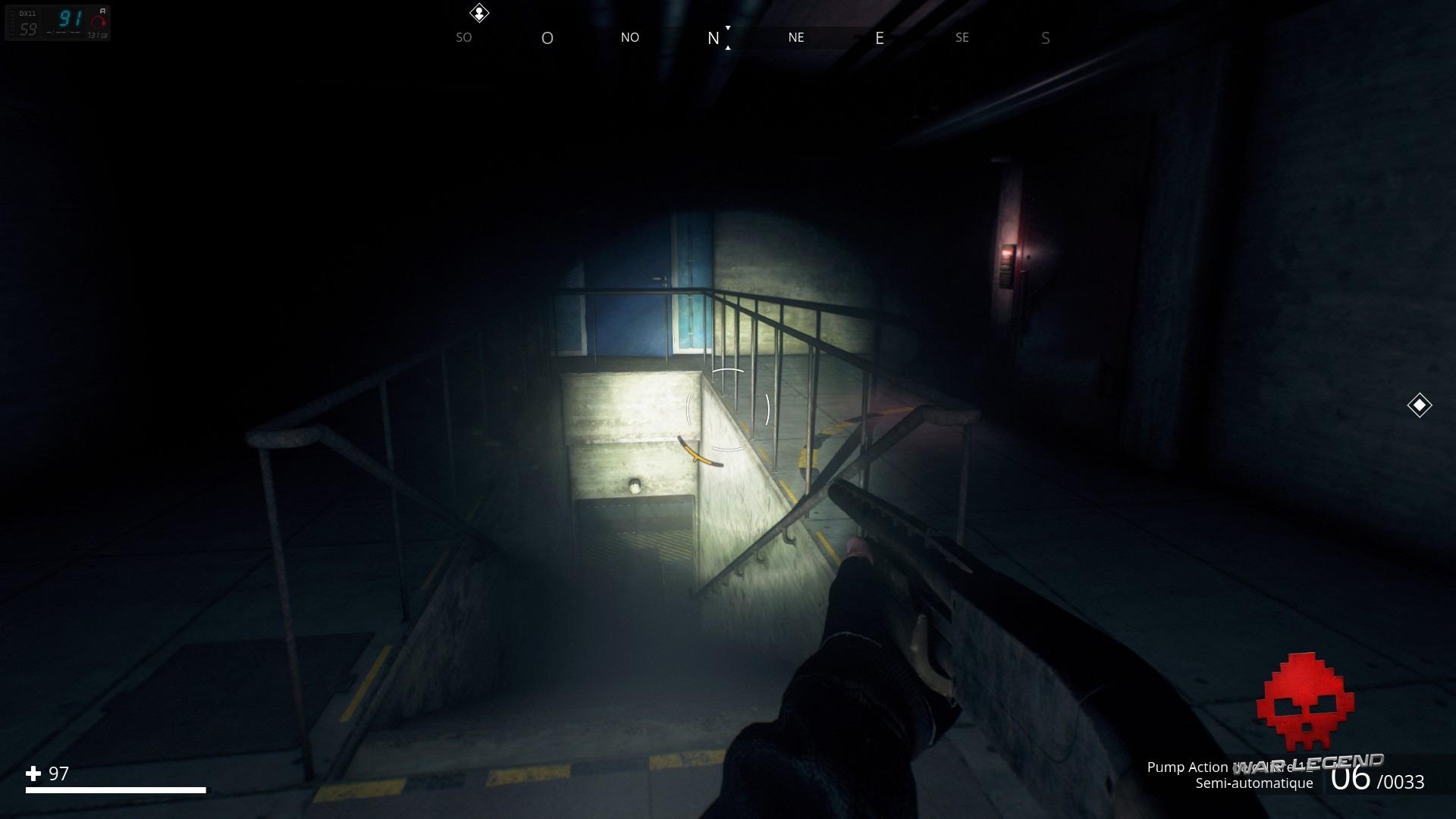 exploration d'un bunker