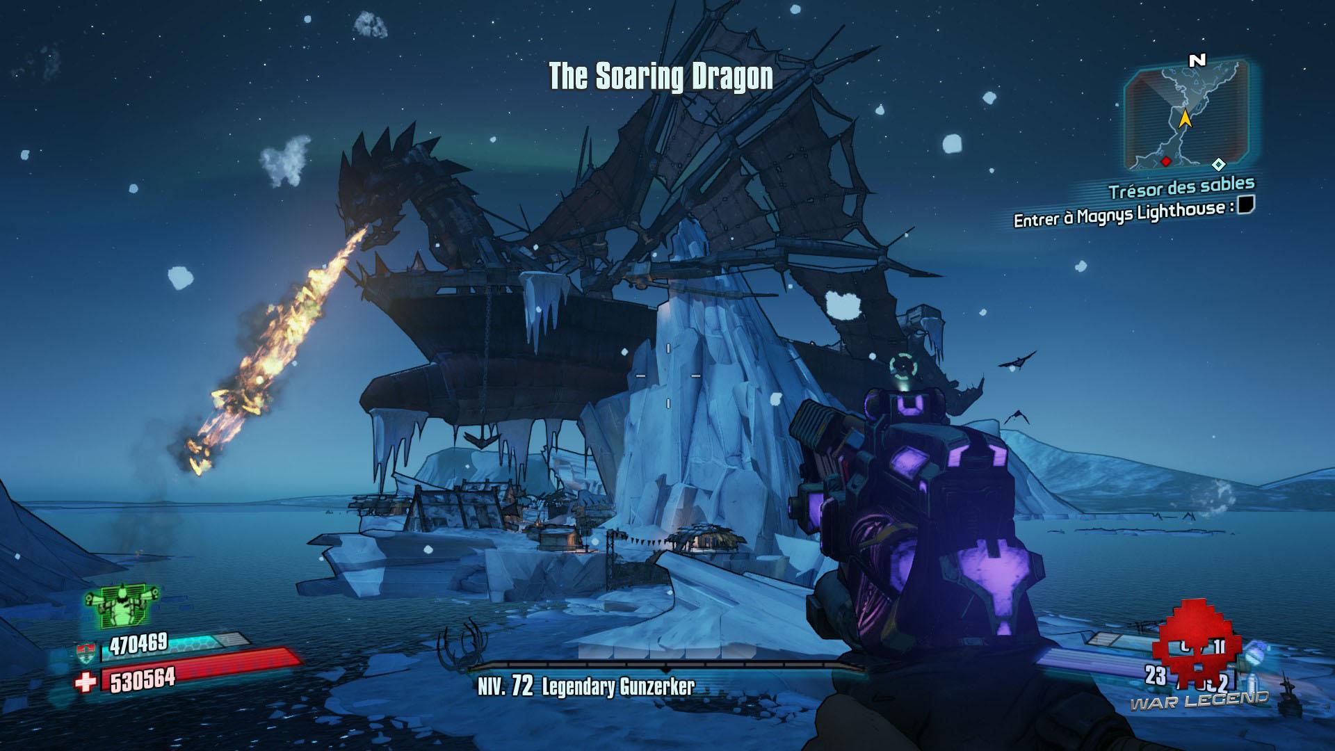Guide borderlands 2 le soaring dragon