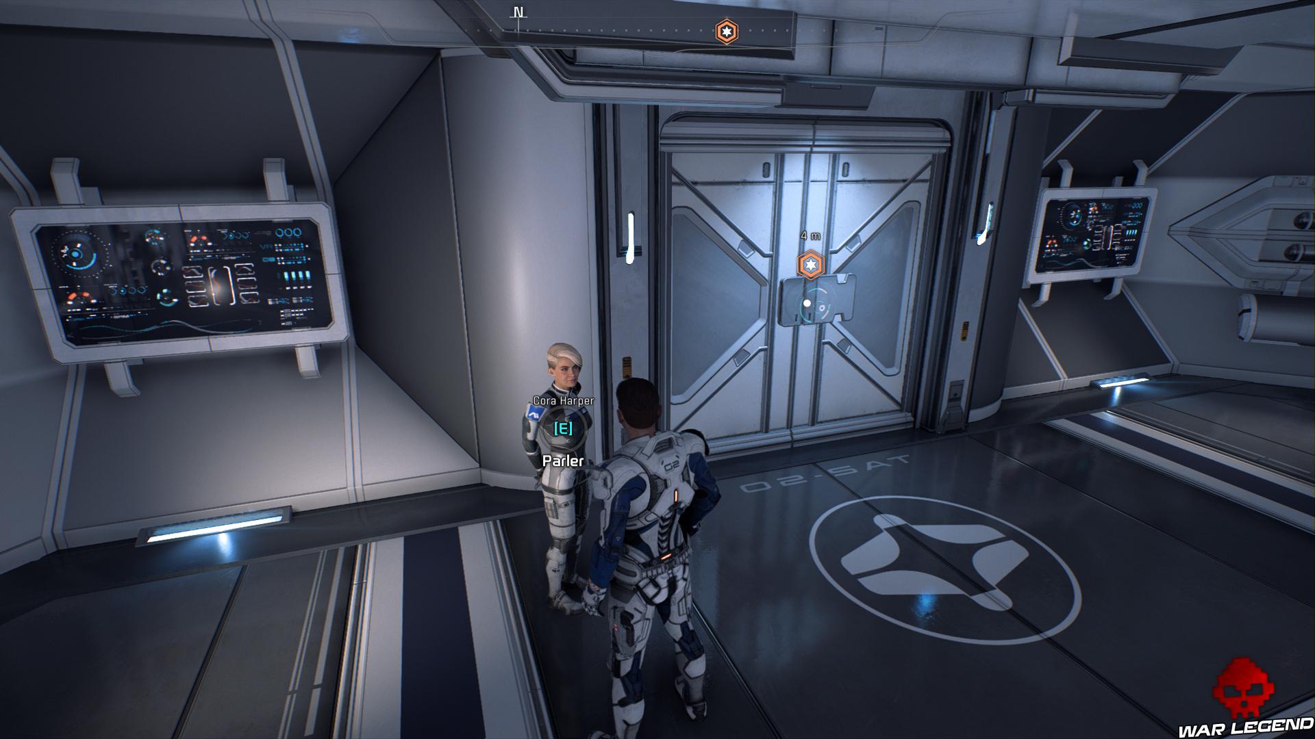 Soluce Mass Effect: Andromeda - Prologue: Hypérion porte