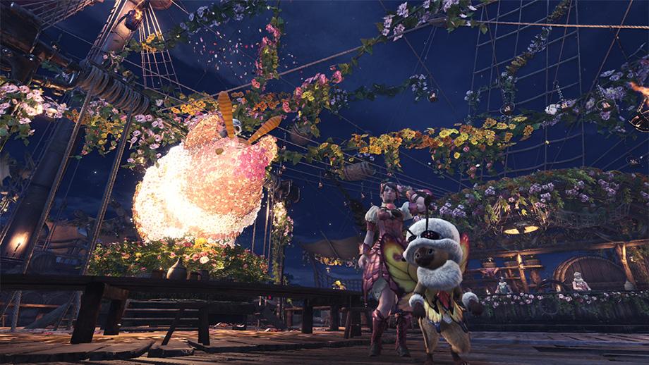 Le grand pont de nuit durant le Festival du Printemps
