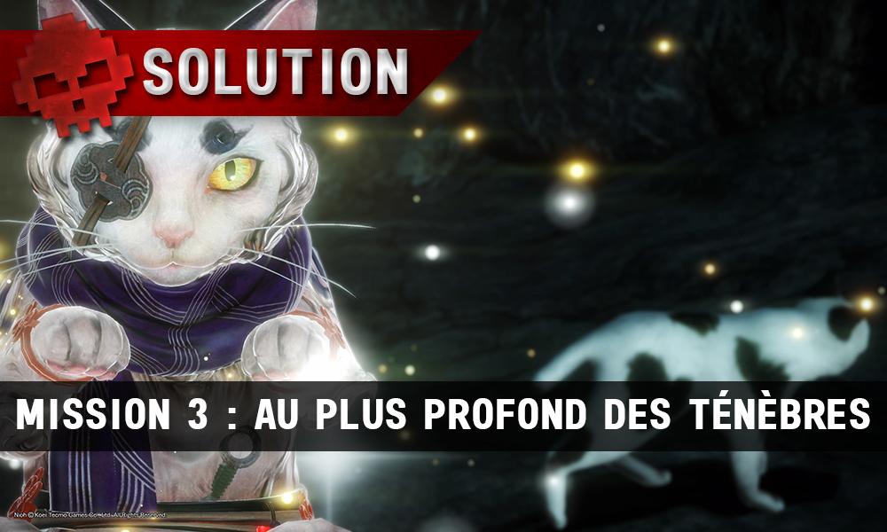 Solution complète de Nioh mission 3