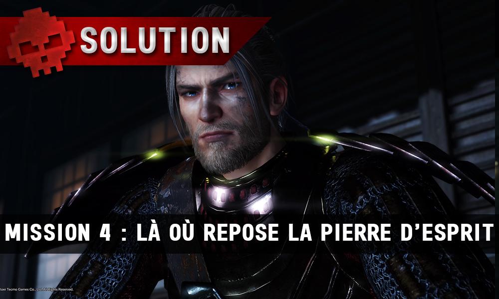 Solution complète de Nioh mission 4