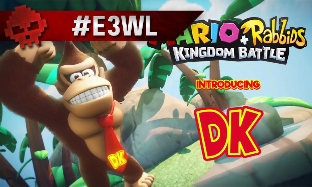 Donkey Kong levant les bras