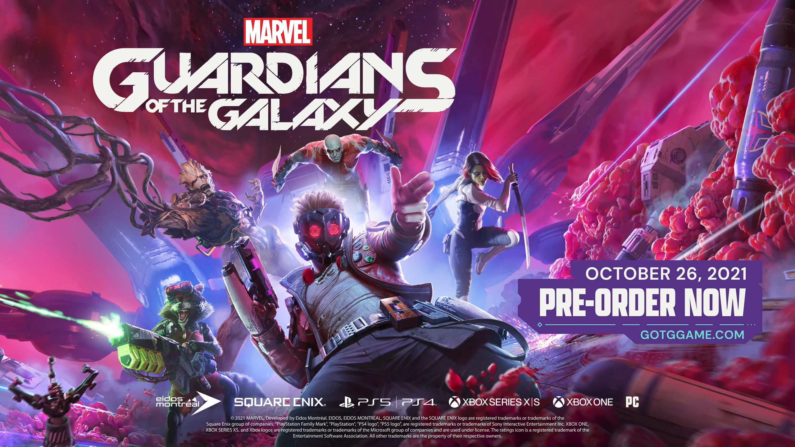 Marvel's Guardians of the Galaxy _ Official Reveal Trailer 2-33 screenshot