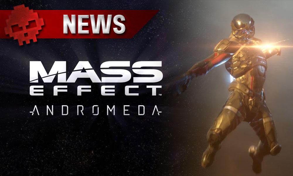 Mass Effect: Andromeda - Les dernières infos sur le jeu Personnage en combinaision spatiale futuriste