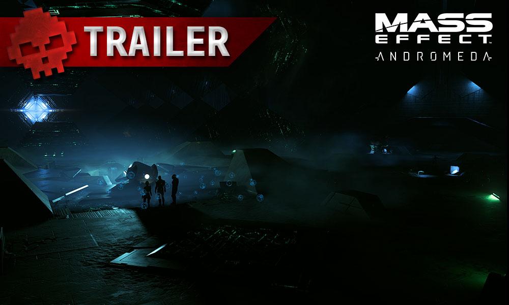 Mass Effect: Andromeda - La galaxie d'Andromède se lance bientôt avec un trailer Personnages dans un environnement spatial