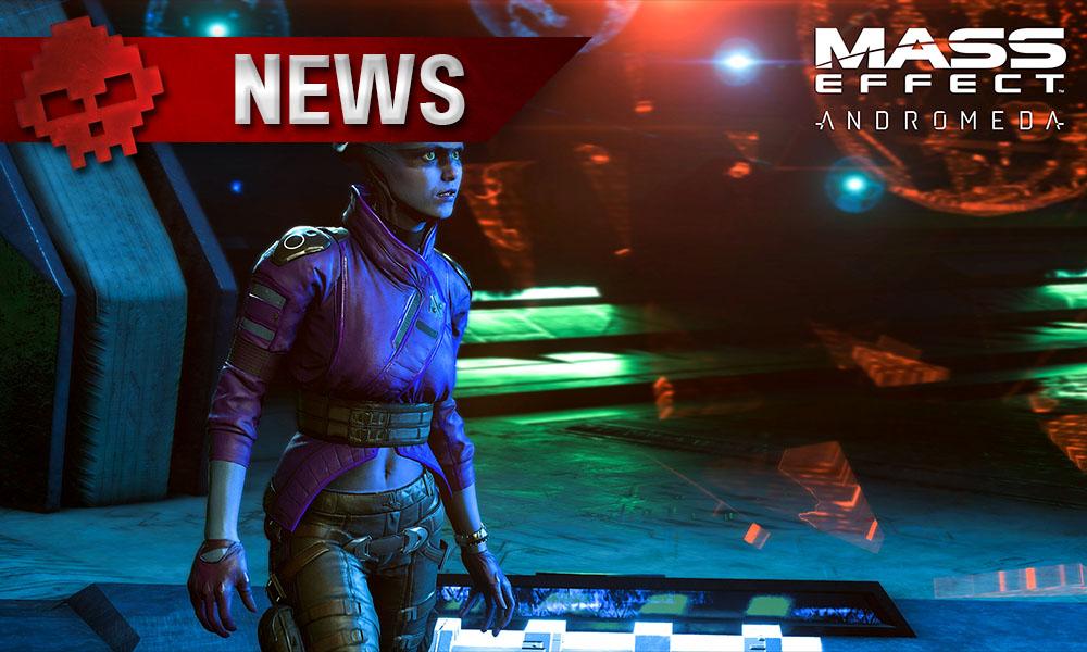 Mass Effect: Andromeda - Les configurations recommandées sont pour du 1080p/30 fps Asari Peebee au regard curieux