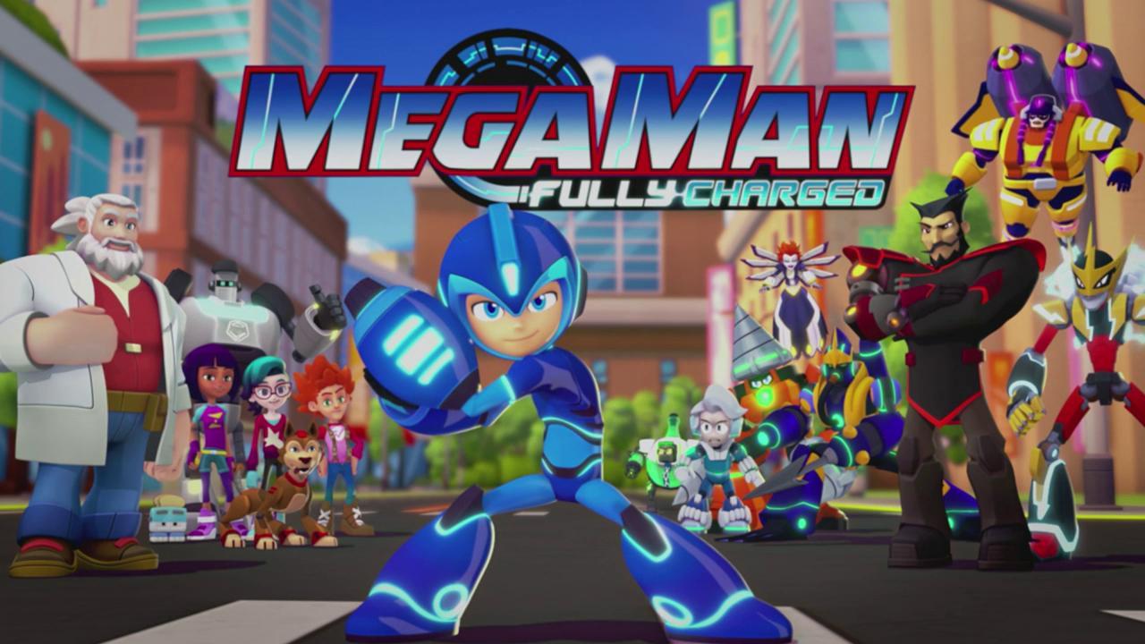 Nouvelle série Mega Man