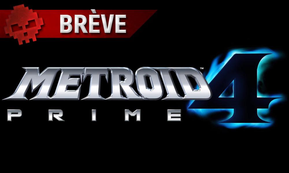 Logo Metroid Prime 4 - Brève