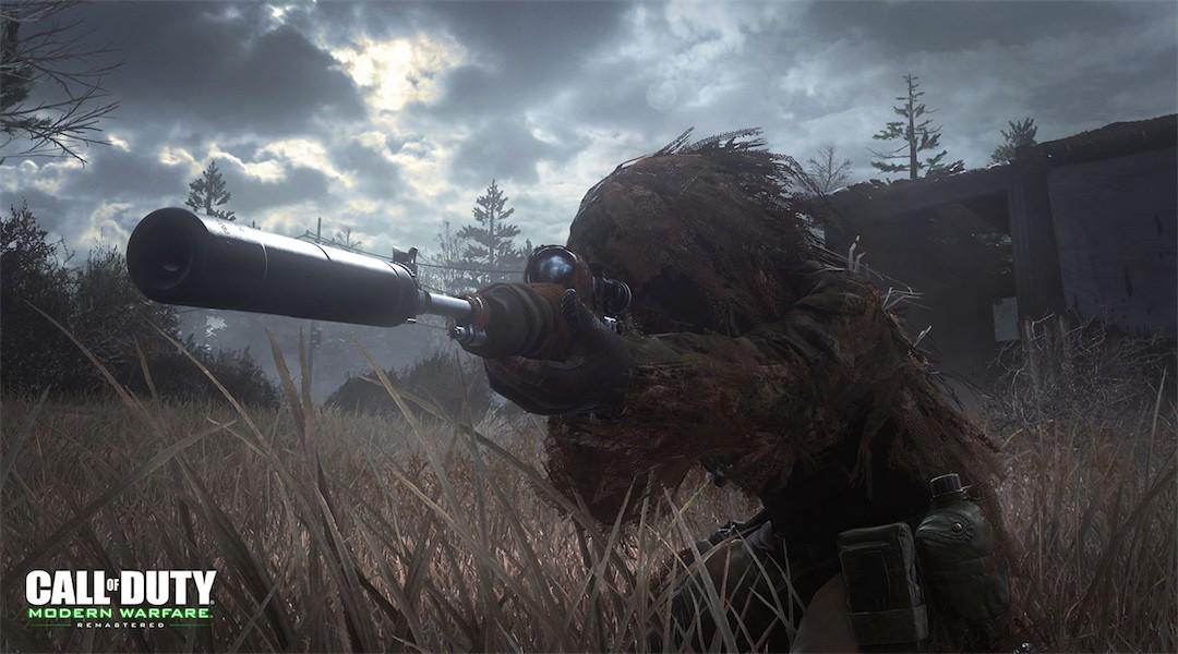 Sniper en ghillie