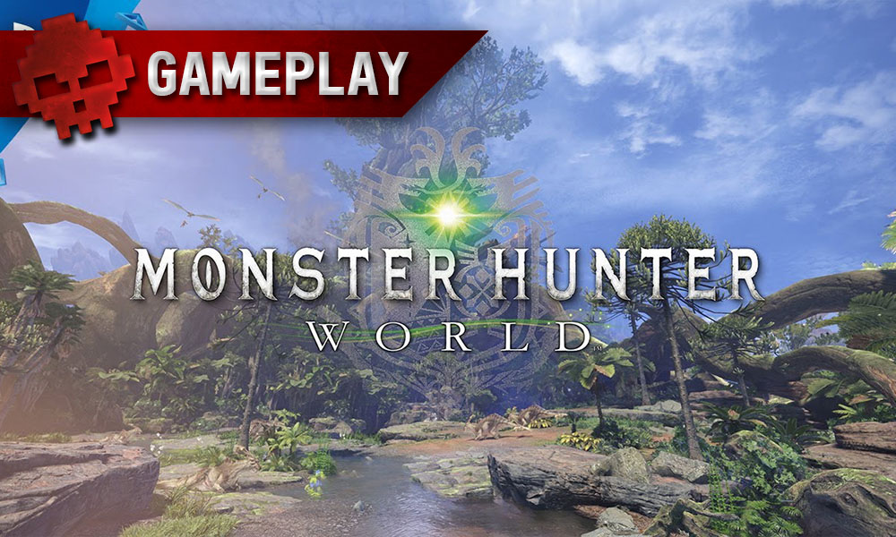 Vignette Monster Hunter World Gameplay