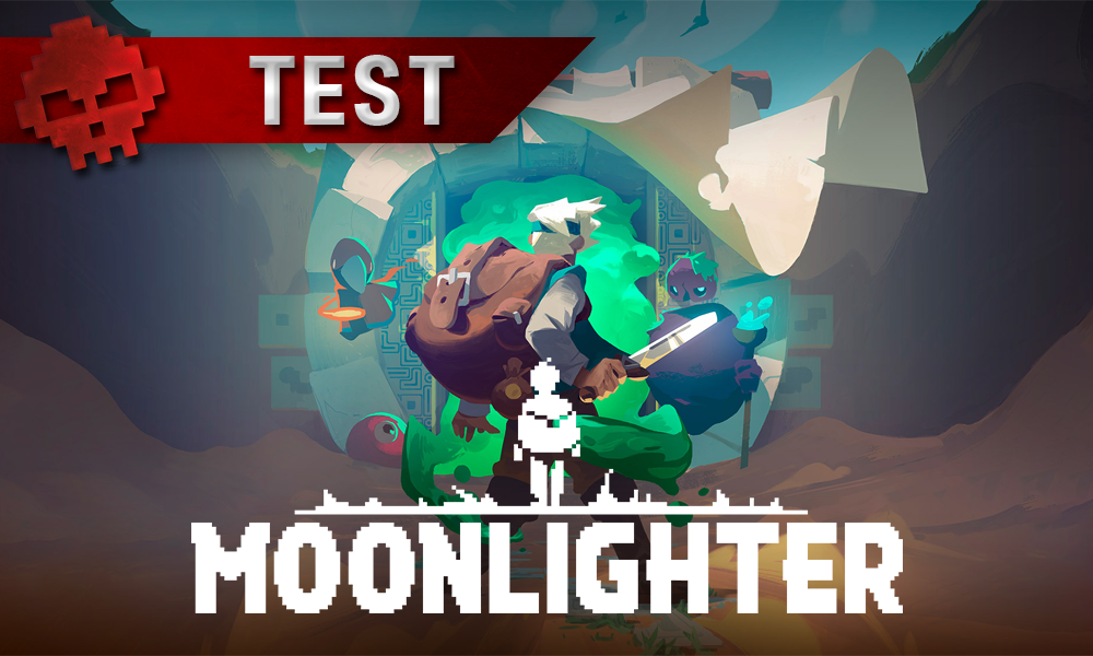Moonlighter - Will devant la porte d'un donjon