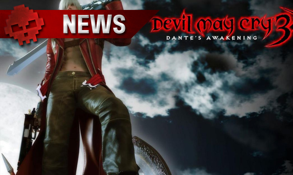 NEWS devil may cry 3 special edition switch