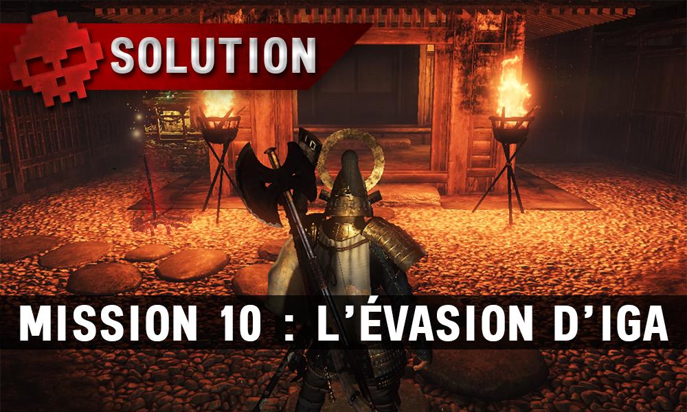Solution complète de Nioh mission 10
