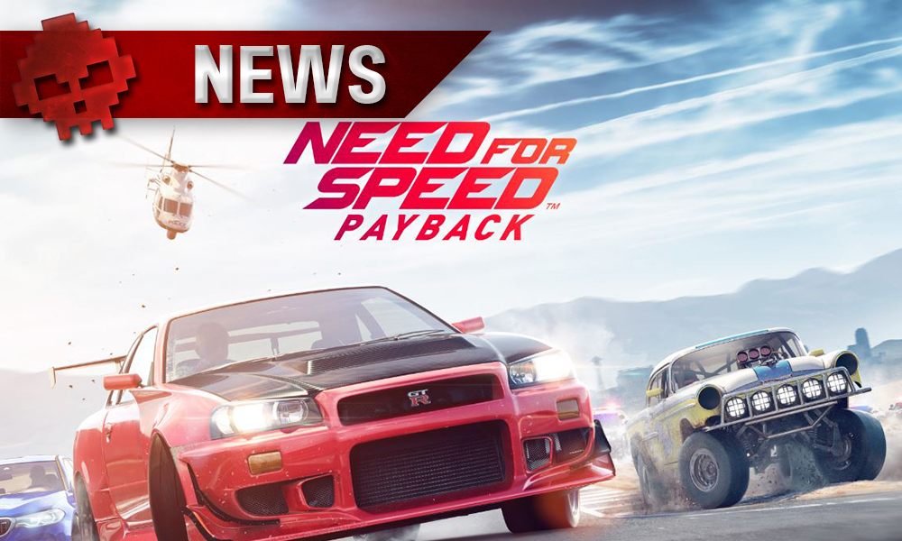 need for speed payback une date de sortie annonc e. Black Bedroom Furniture Sets. Home Design Ideas