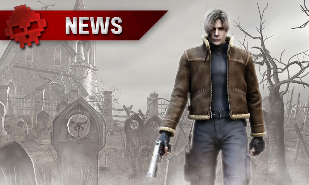 Resident Evil 4 - Leon devant un cimetière brumeux