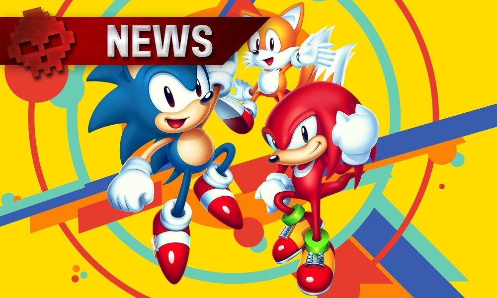 vignette news - Sonic, Tails et Knuckles de Sonic Mania
