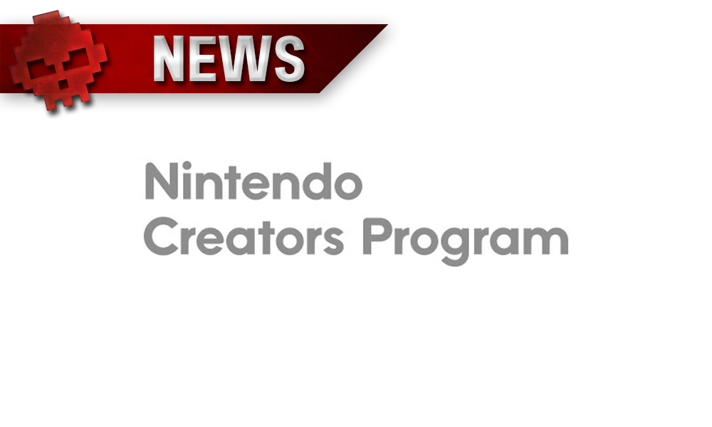 vignette news Nintendo Creators Program