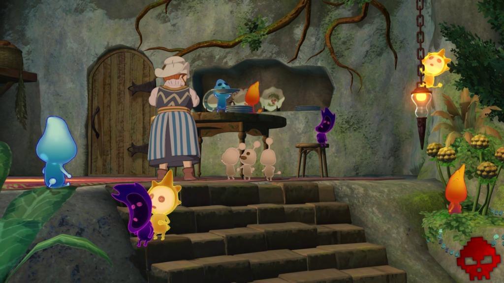 Ni no Kuni II - Les Mousses dans la maison de Gretchen