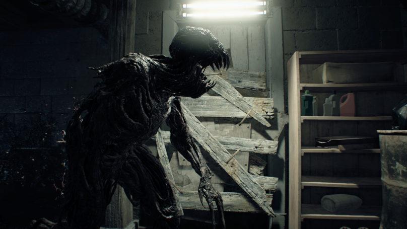 Resident Evil 7 - Monstre de profil