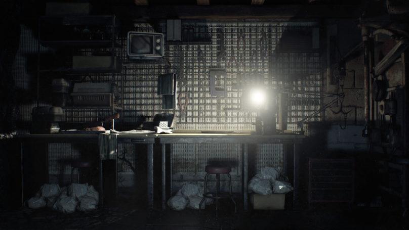 Resident Evil 7 - établi de garage
