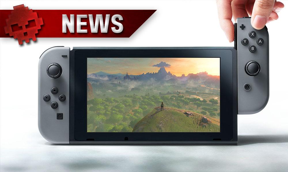 Nintendo Switch - Les recherches sur le net explosent les scores - console