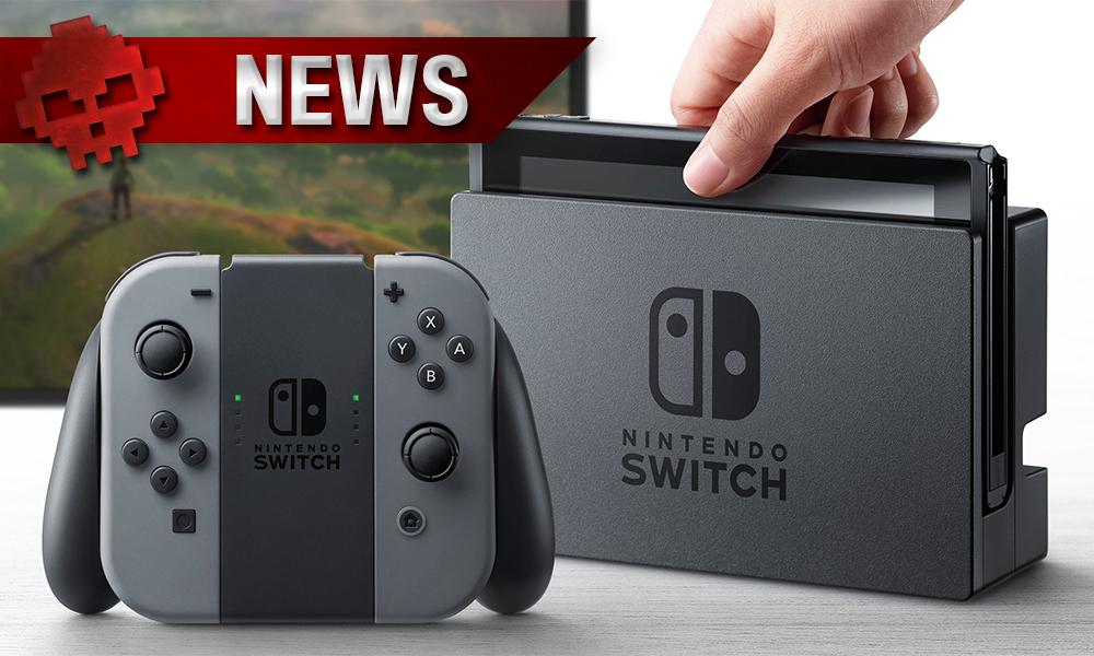 Nintendo Switch - Quelques rumeurs sur son prix
