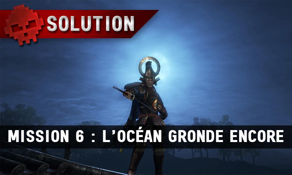 Soluce complète de Nioh mission 6