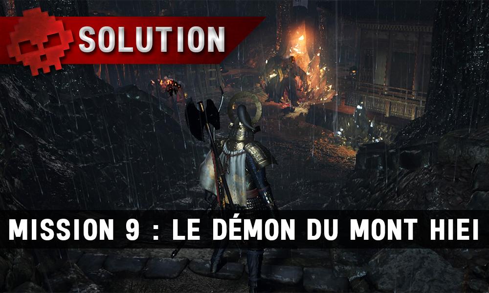 Soluce Nioh - Le démon du mont Hiei : mission 9