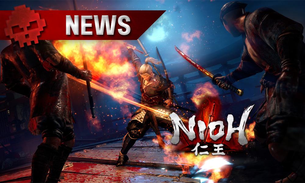 Nioh - Le premier DLC trouve sa date de sortie Personnage principal
