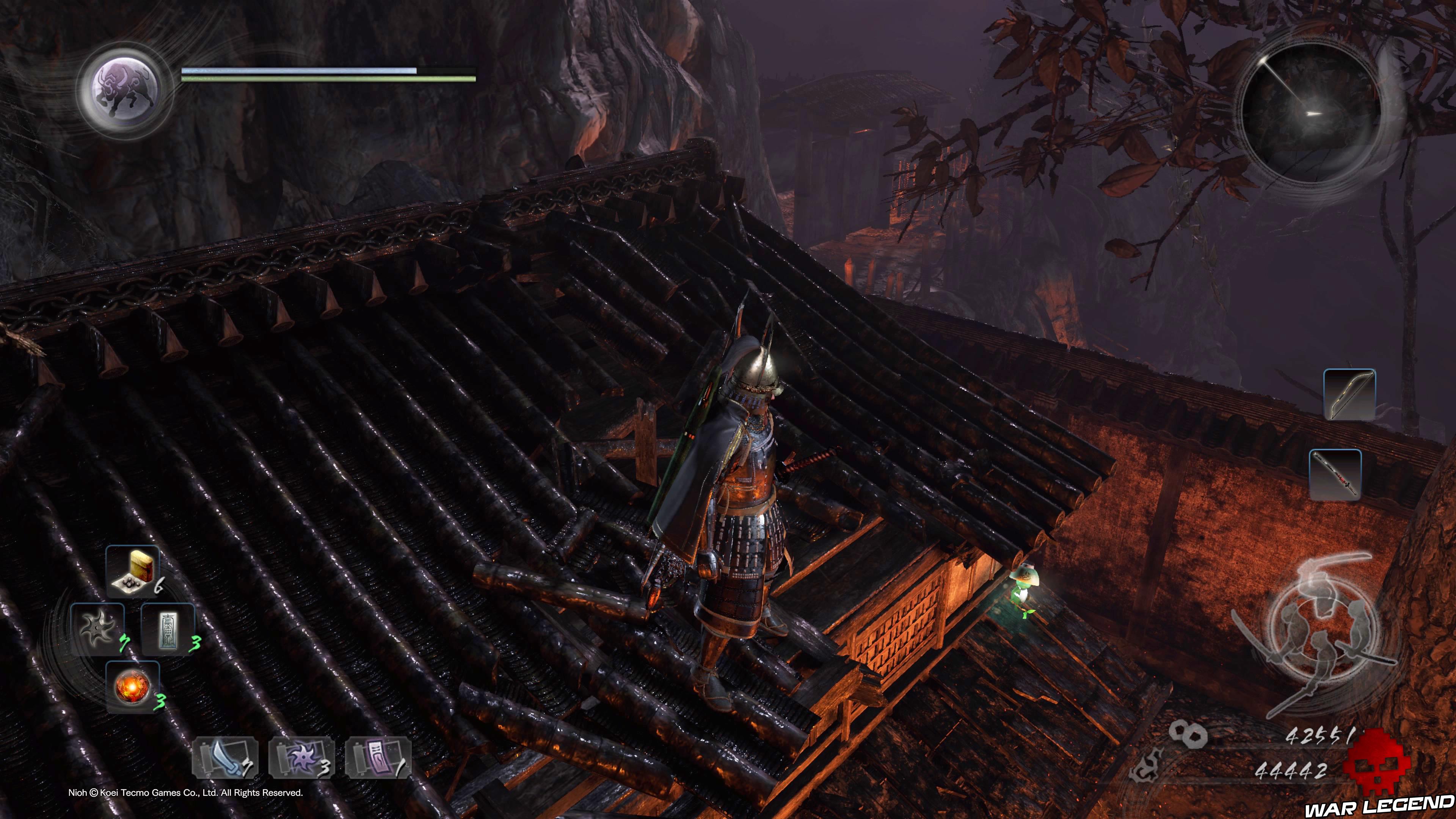 Soluce Nioh - Château du nid de l'araignée Kodama