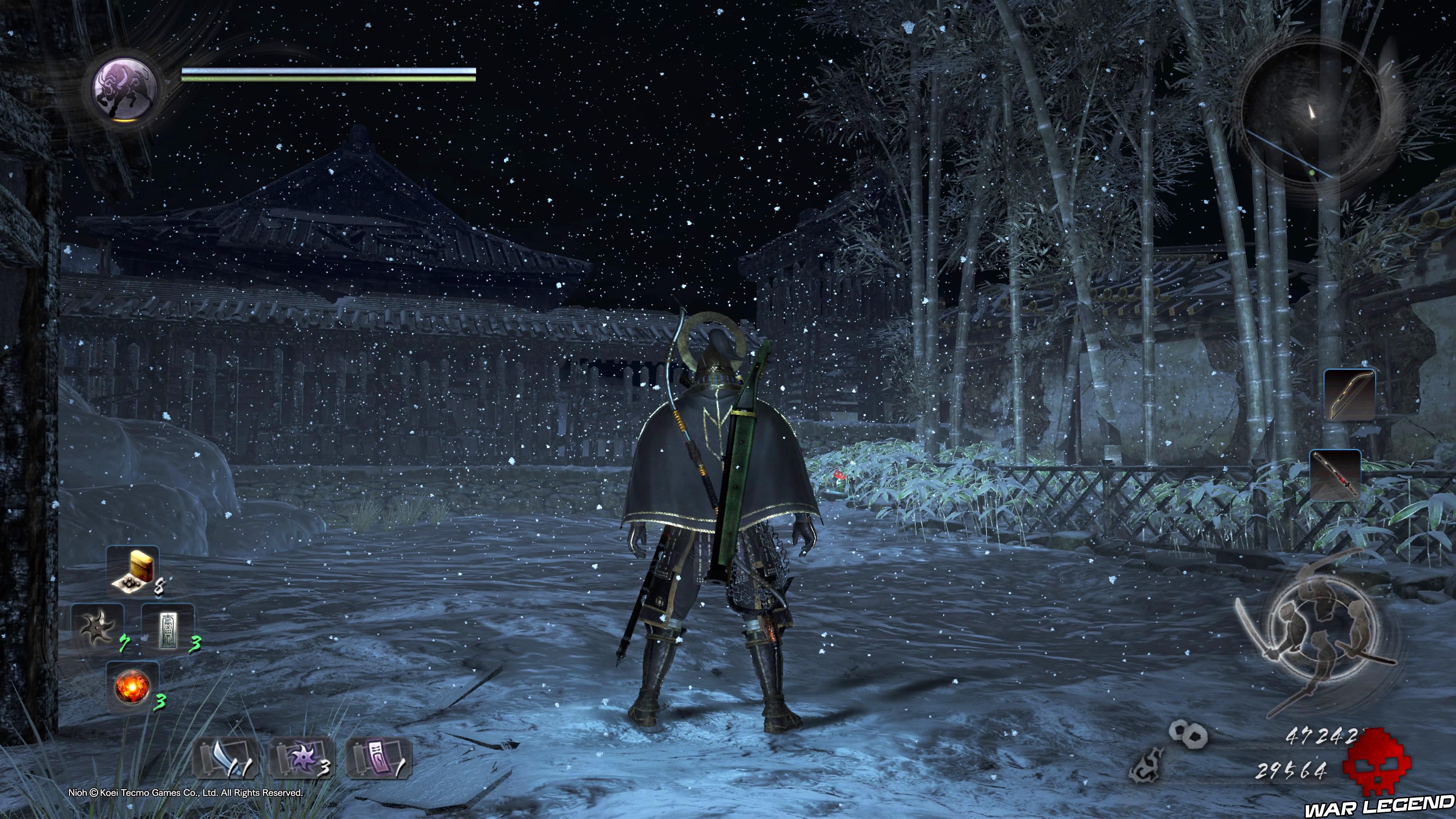 Soluce Nioh - Chute de neige: mission 8 Kodama