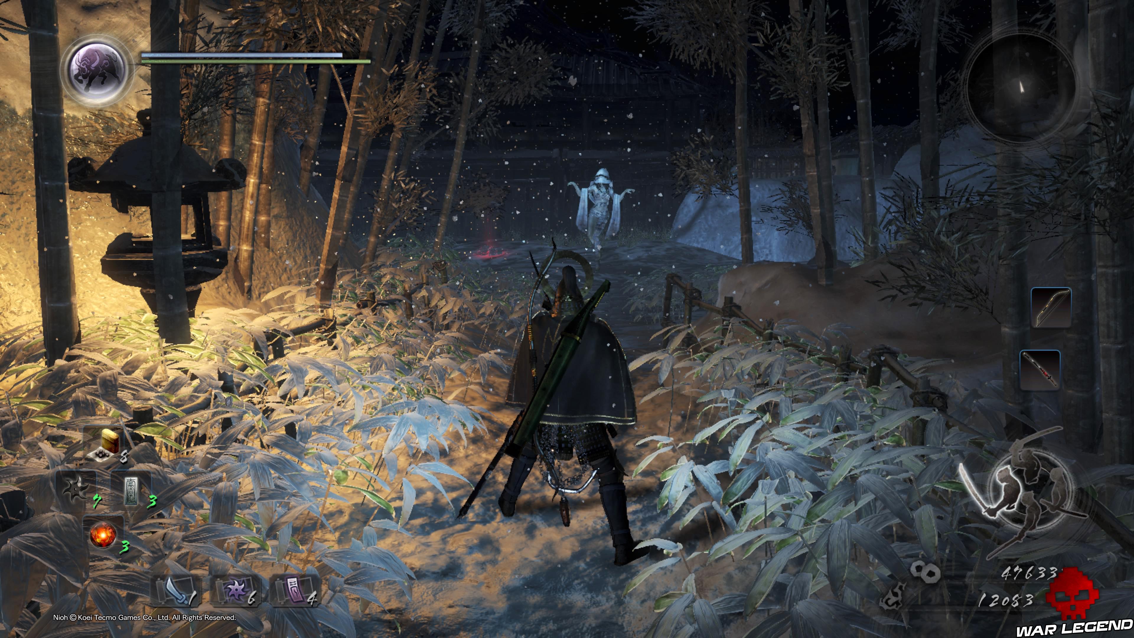 Soluce Nioh - Chute de neige: mission 8 monstre