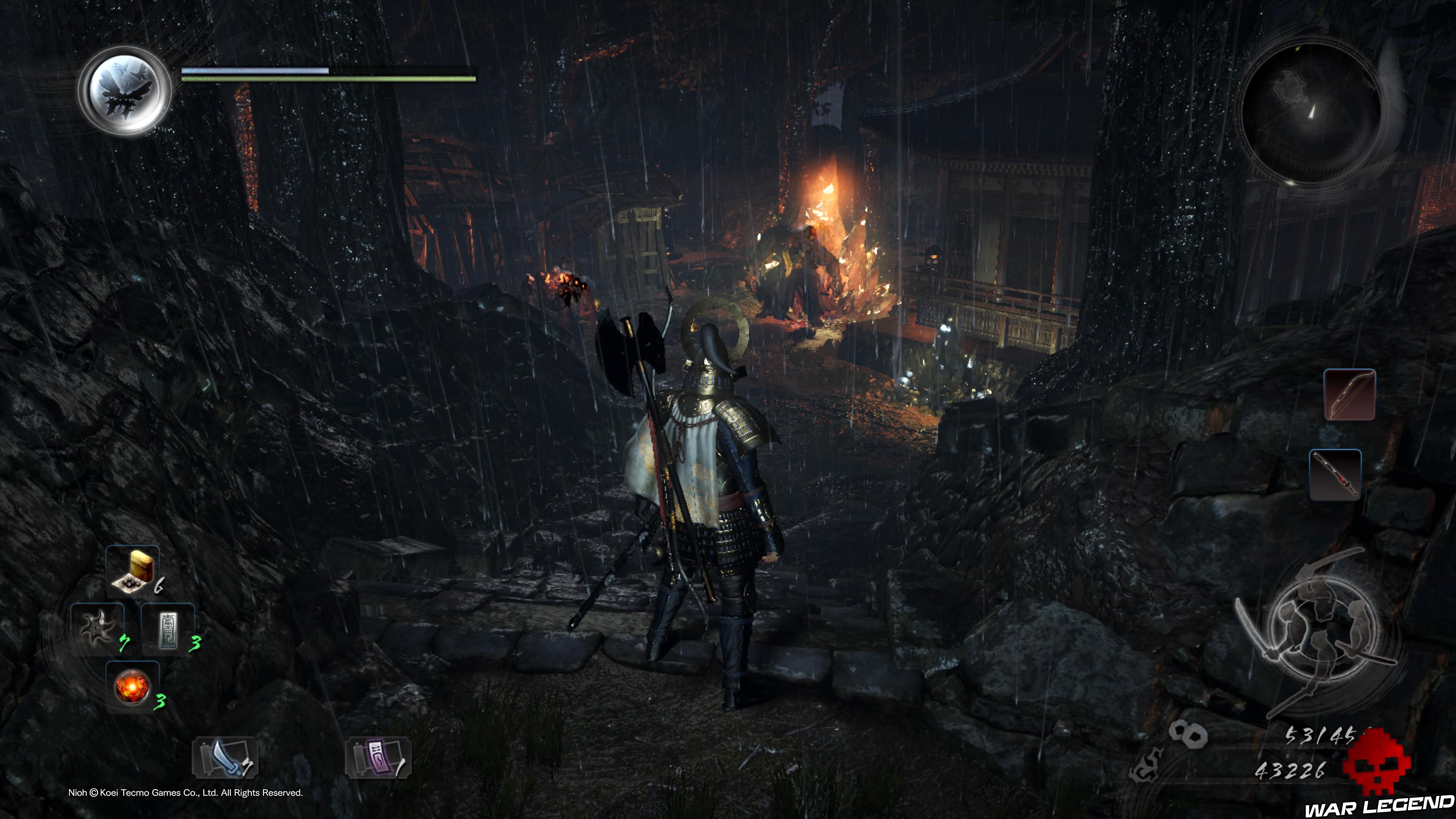 Soluce Nioh - Le démon du mont Hiei: mission 9 monstres