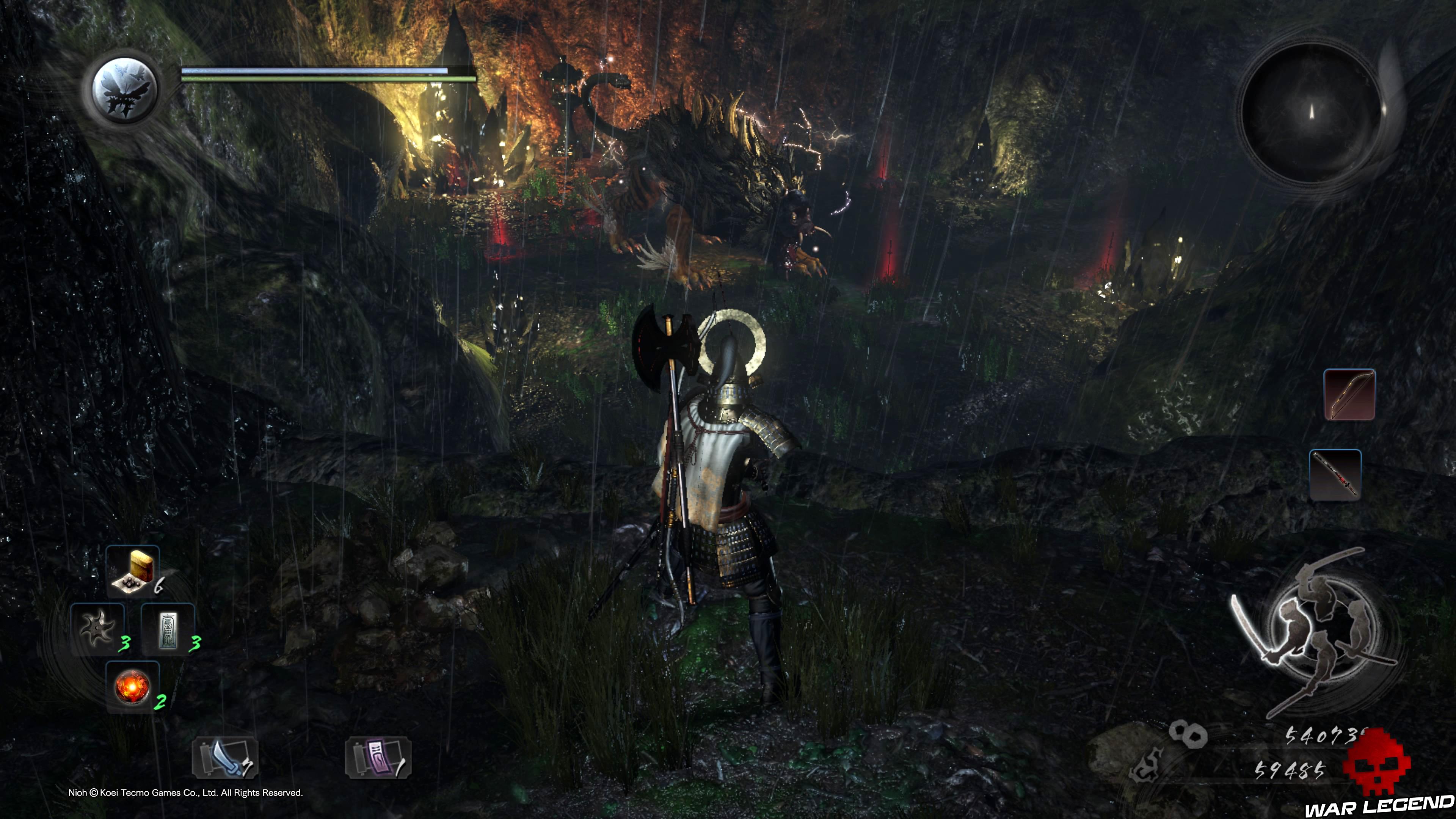 Soluce Nioh - Le démon du mont Hiei: mission 9 Nué