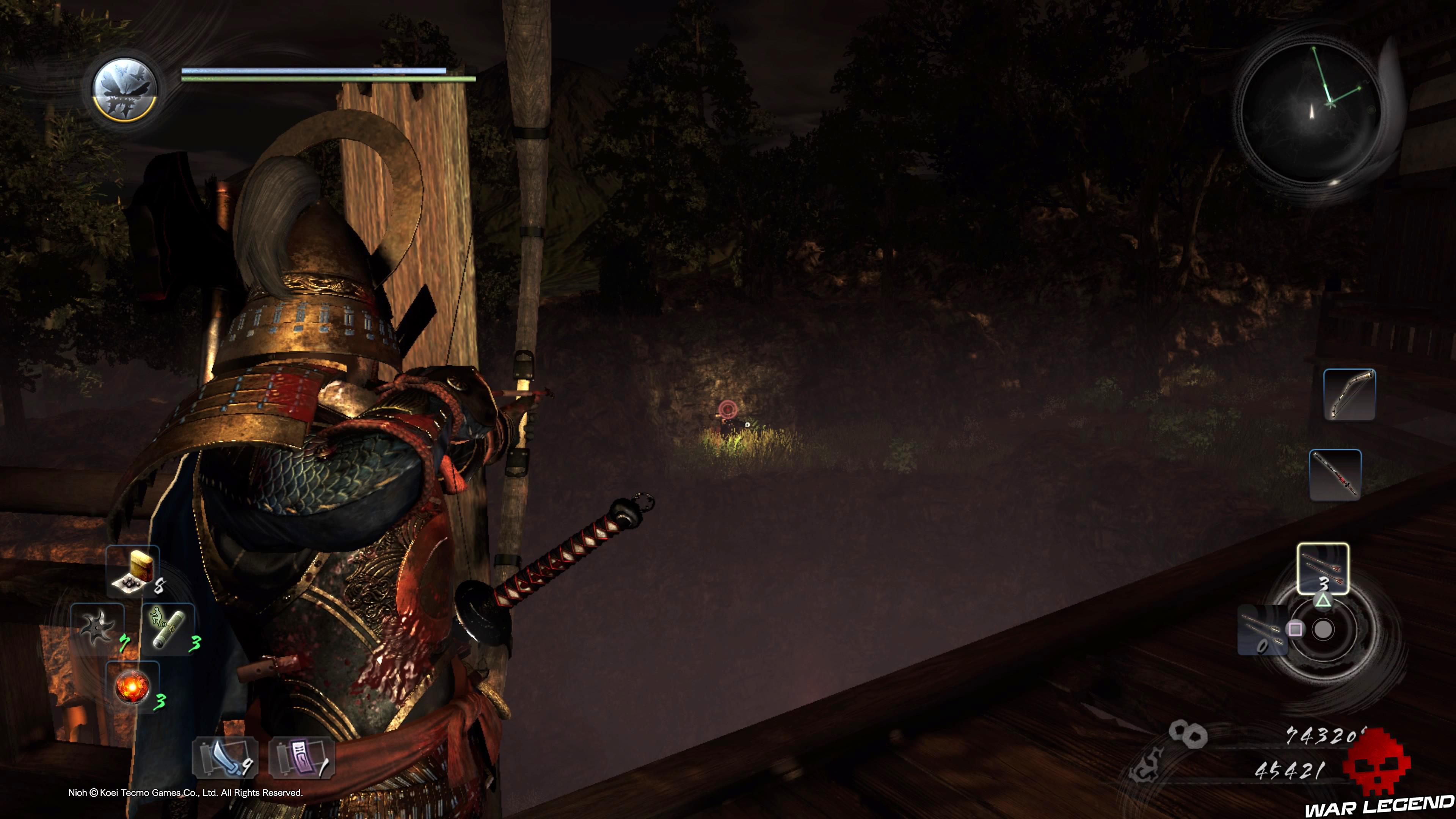 Soluce Nioh - L'évasion d'Iga archer
