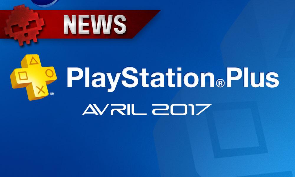 PlayStation Plus - Les titres du mois d'avril ont été révélés Logo