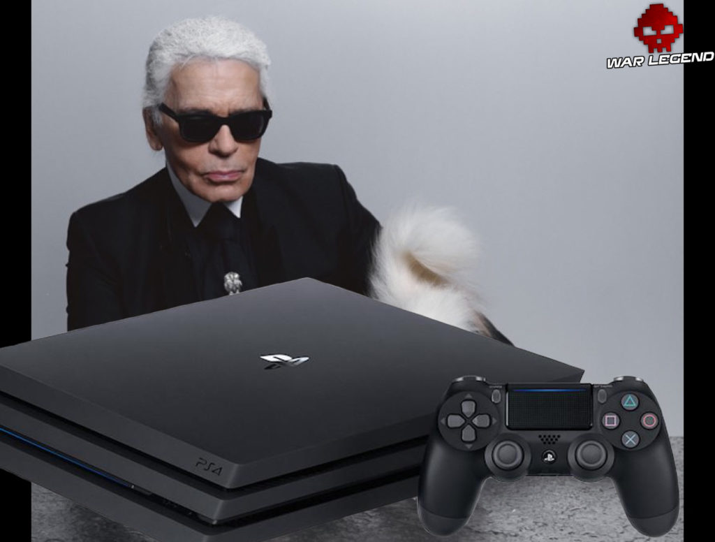 Test PS4 Pro Karl Lagerfeld
