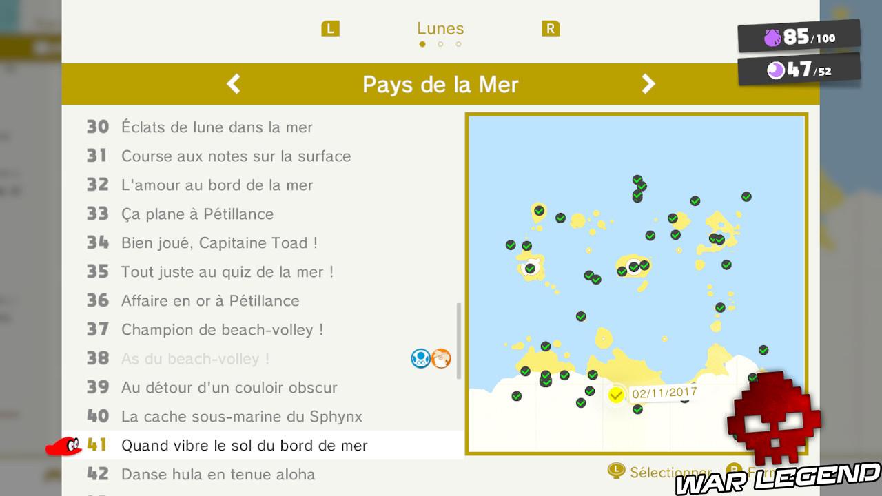 liste lunes pays de la mer