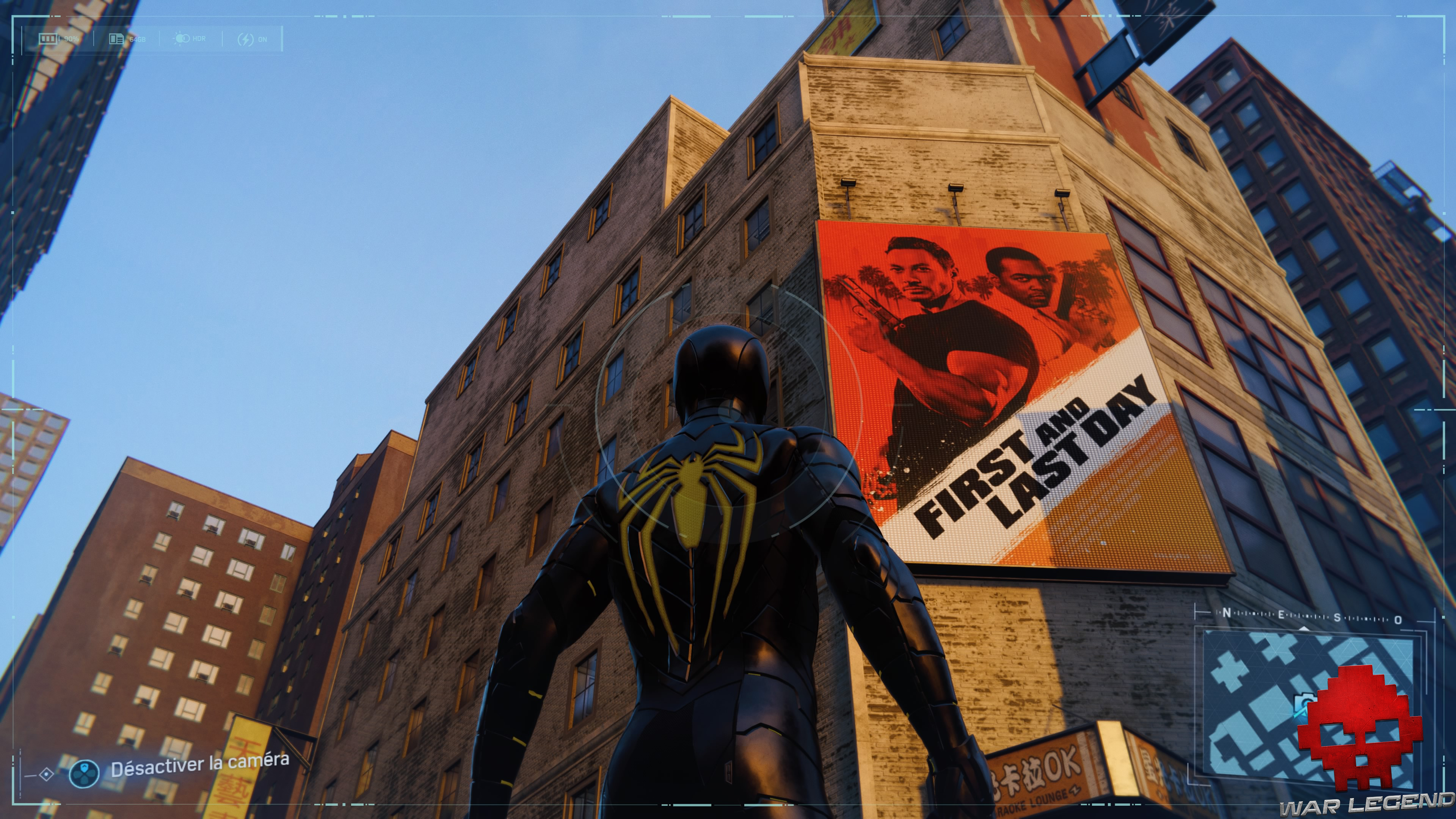Spider-Man photo secrète Affiche du film First and Last Day