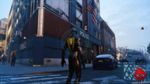 Spider-Man photo secrète Commissariat de Chinatown
