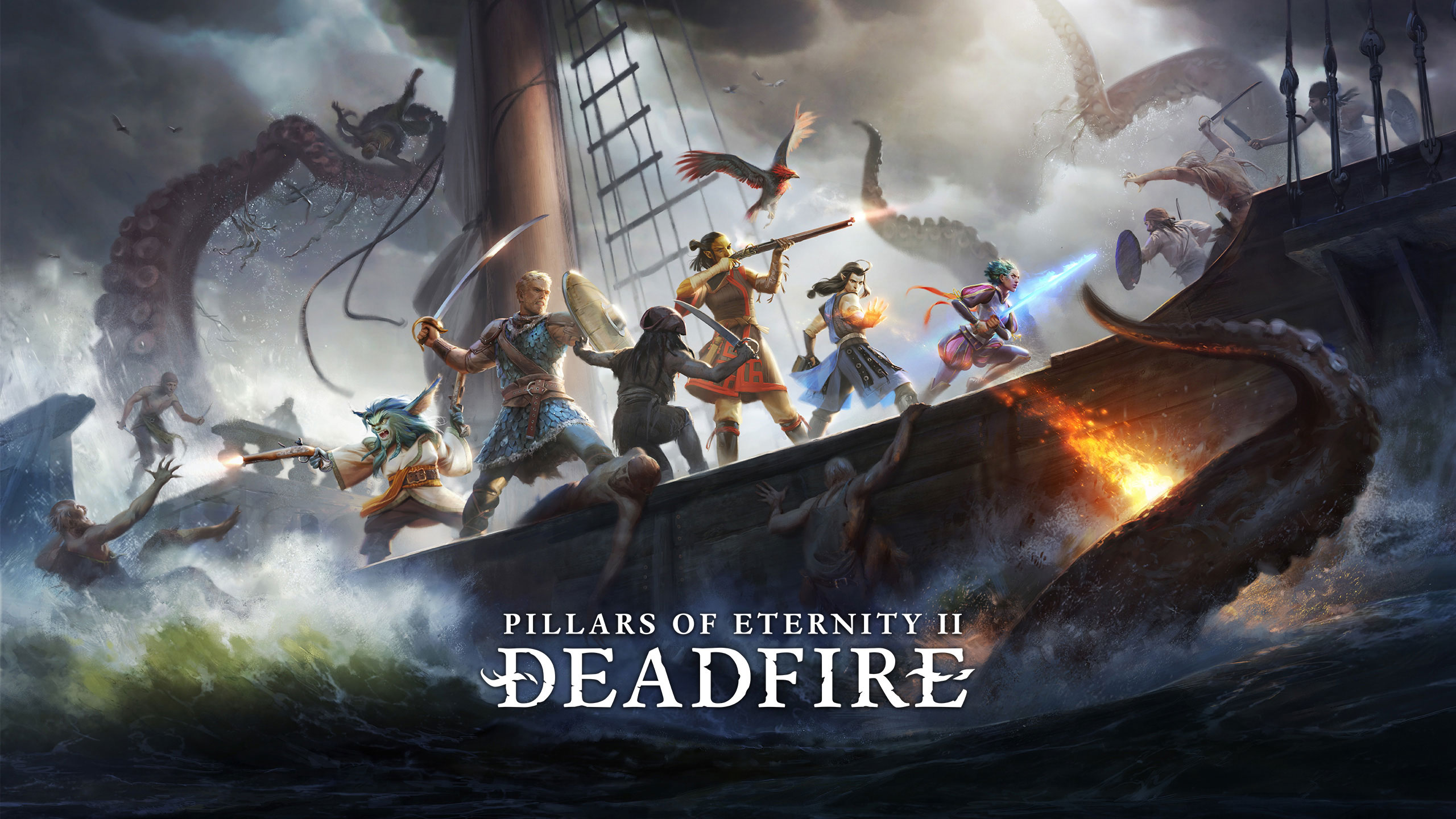 visuel officiel de Pillars of Eternity 2: Deadfire