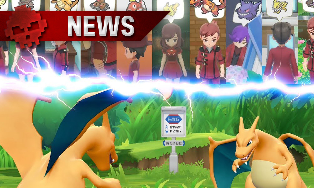 Vignette news Pokémon Let's Go experts et deux Dracofeu